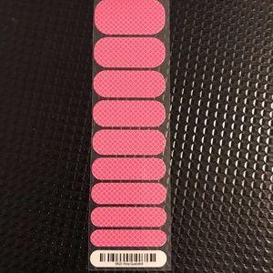 Jamberry Nail Wrap - 1/2 Sheet Rosy Quarterfoil